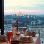 さくらタワー最上階で、ヤンゴンの魅力を味わい尽くす|ヤンゴン