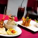 お洒落なマレーシア風の店内で高級マレー料理を味わう|クアラルンプール