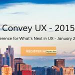 シアトルで開催されるUXデザイナーのためのイベント-Convey UX 2015-