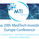スイスで開催される招待制のMedTechイベント-MedTech Investing Europe Conference-