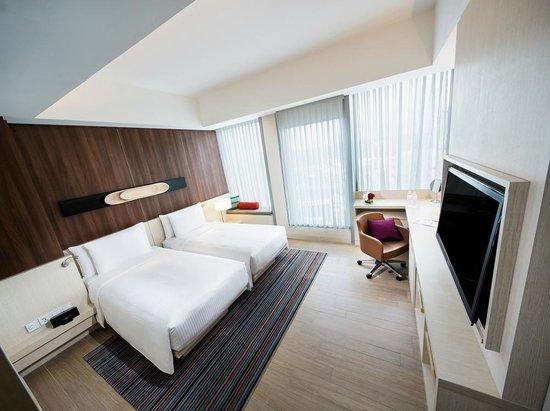 オアシア ホテル シンガポール バイ ファー イースト ホスピタリティ