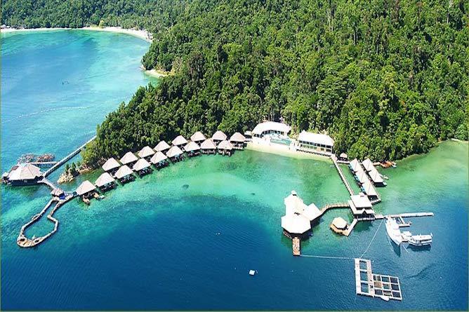 出典:http://www.selectiveasia.com/borneo-holidays/hotel/gayana-luxury-eco-resort