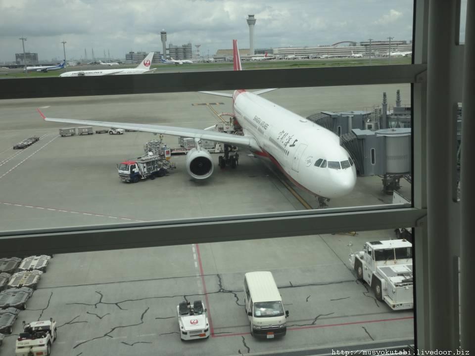 中国空港乗継