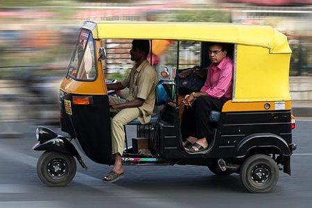 インド リキシャ