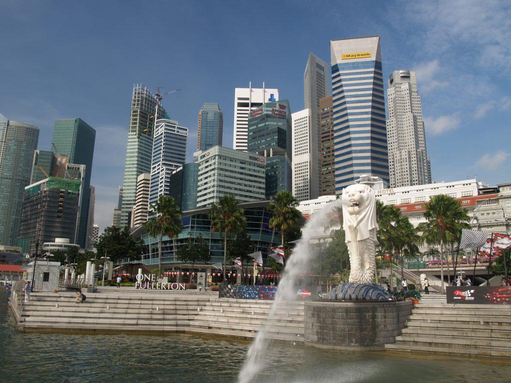 シンガポール 街並み