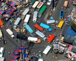 フィリピンの渋滞