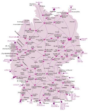 ドイツ鉄道網