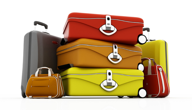 スーツケース 荷物